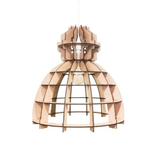 Houten Lamp - Fabrik Naturel