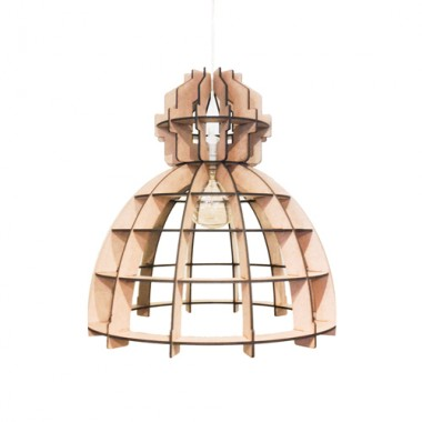Houten Lamp - Fabrik Naturel