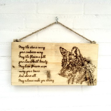 Steigerhout Wolf