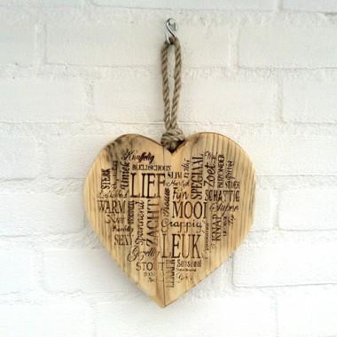 Steigerhout Liefde is